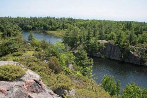 Rock Ridge site (northeast cliffs)
